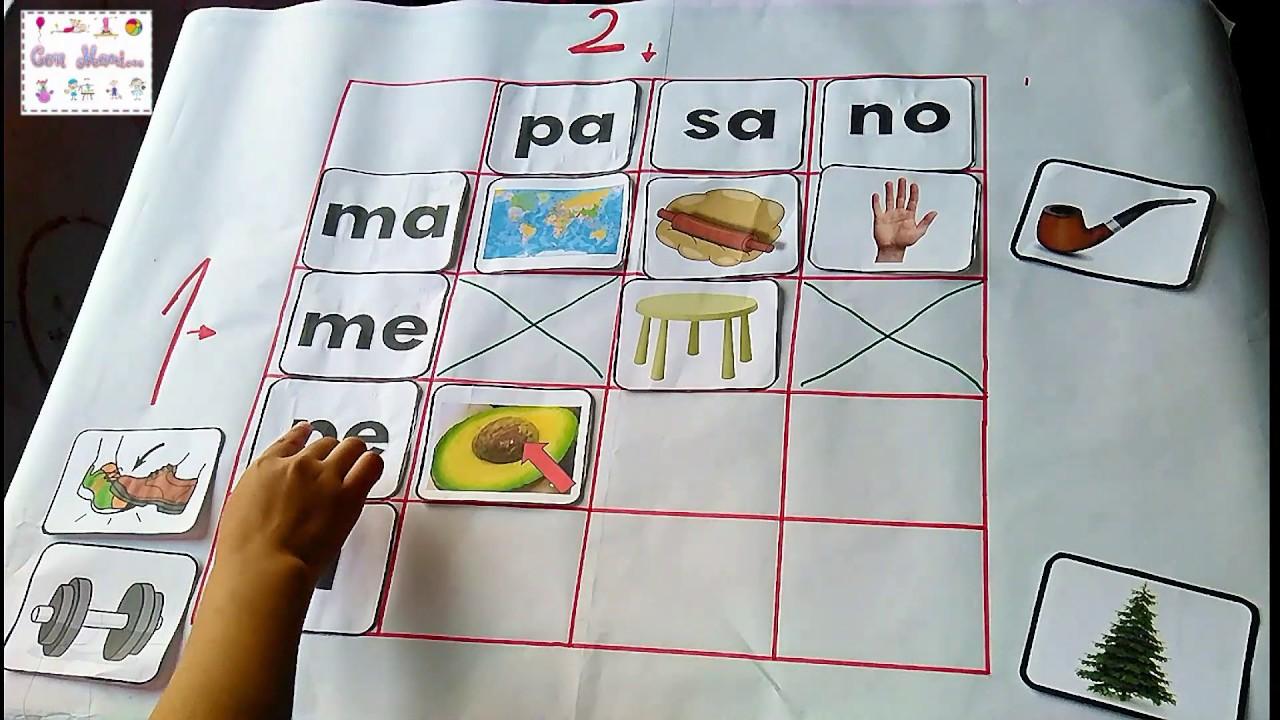Actividad Para La Iniciacion A Lectoescritura Para Ninos De 6 Anos