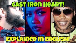 Vybz Kartel Ft. Jada Kingdom - Cast Iron Heart ( Gaza Review!) To Tanesha Album