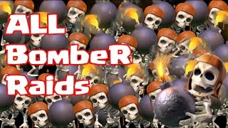 Clash of clans ALL wall breaker raid! (they won