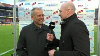 Sparta - Plzeň 2:0 rozhovor Petr Rada