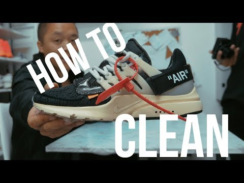 HOW TO CLEAN OFF WHITE PRESTO!