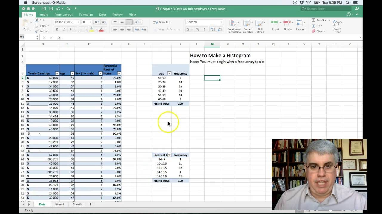 How to make  histogram in excel for mac also youtube rh