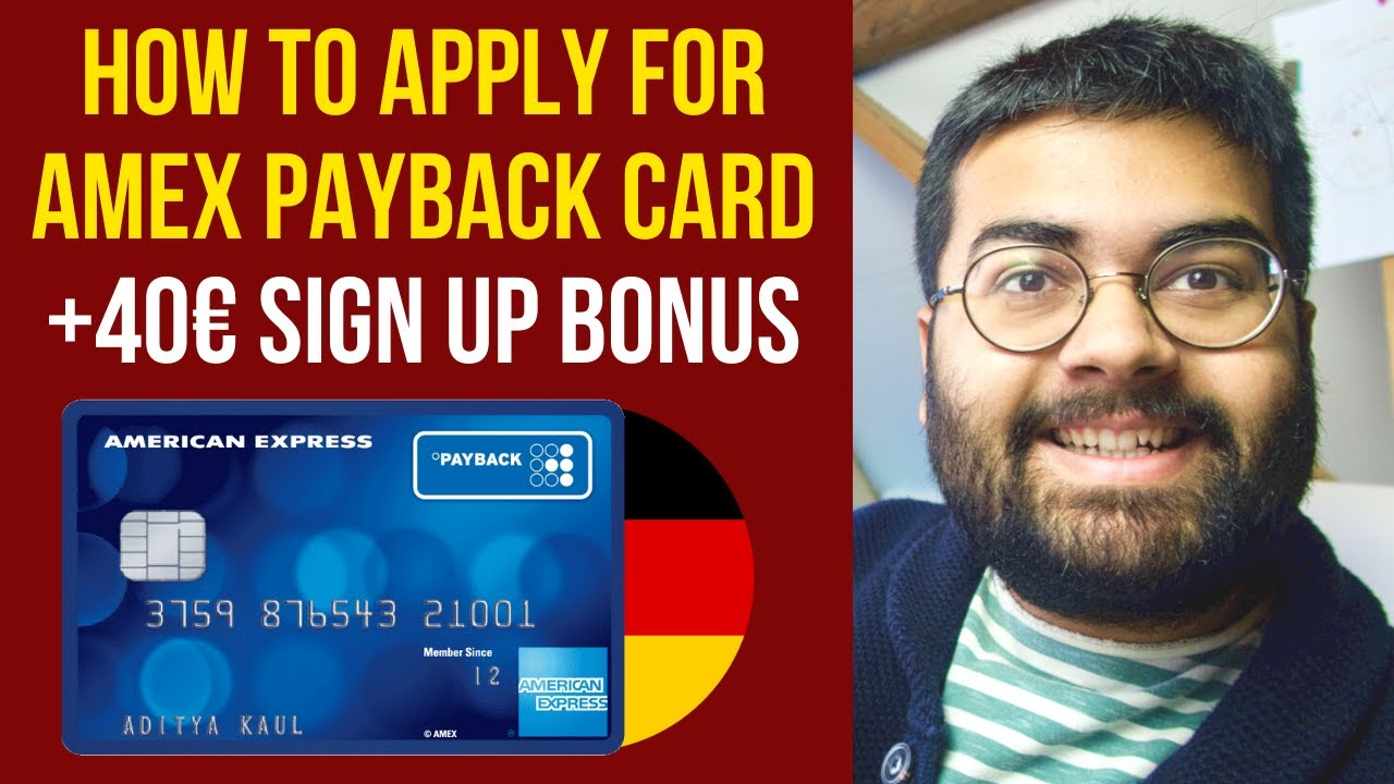 Download Step by Step: How to Apply for American Express Payback Credit Card in Germany? 🇩🇪