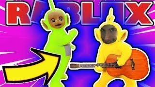 How To Get Omg Teletubbies Badge in Roblox Fnaf Sister Location Roleplay