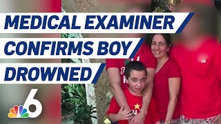 Medical Examiner Confirms Miami-dade Boy With Special Needs Drowned In Canal