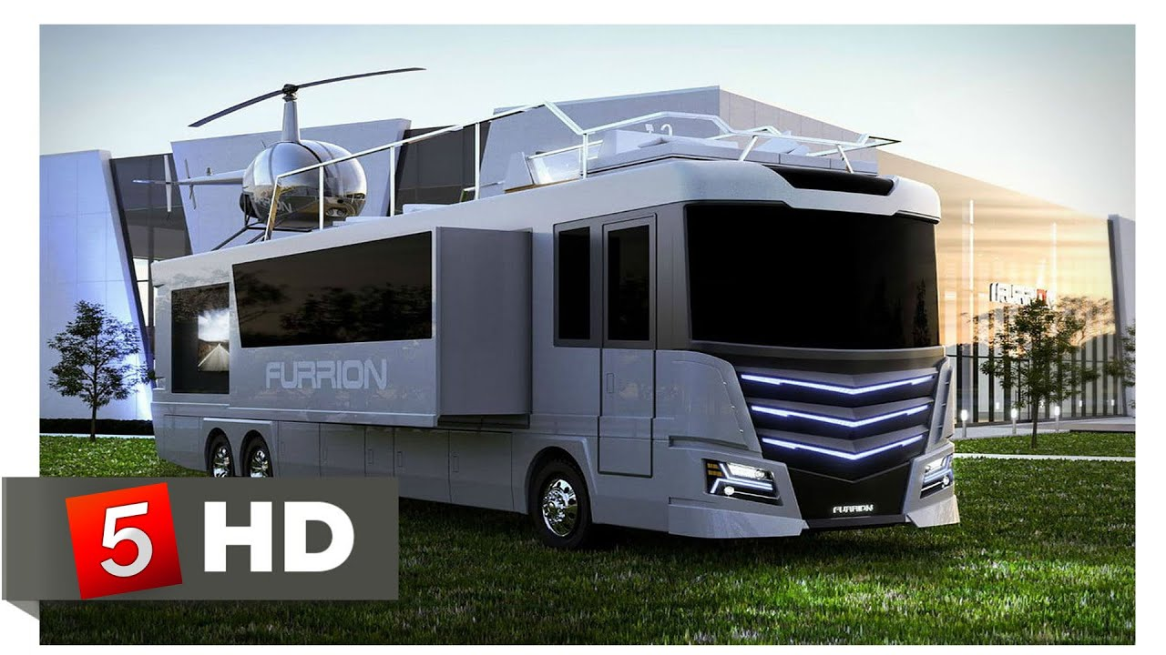 10 Luxurious Motor Homes You Won't Believe Exist!