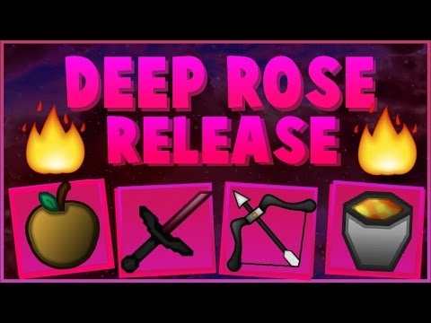 Minecraft: Deep Rose Texture Pack by Latenci | 1.7/1.8/1.9 Resource MC
