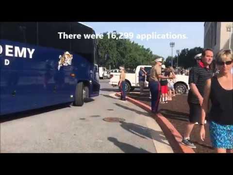 U S  Naval Academy Class of 2021 Arrives