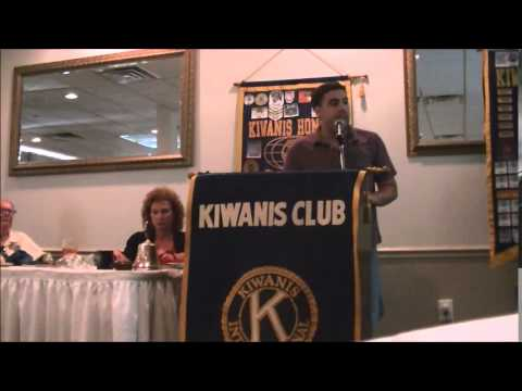 Brainwash Education, Trivum, Unschooling - Bob Tuskin Speaks to the Kiwanis Club