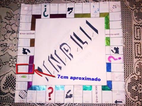 como crear tu juego monopoly