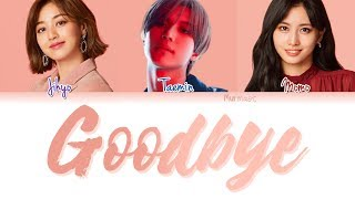 Download TAEMIN (태민) x TWICE (트와이스) (Momo and Jihyo) - GOODBYE (Color Coded Lyrics Eng/Rom/Han)