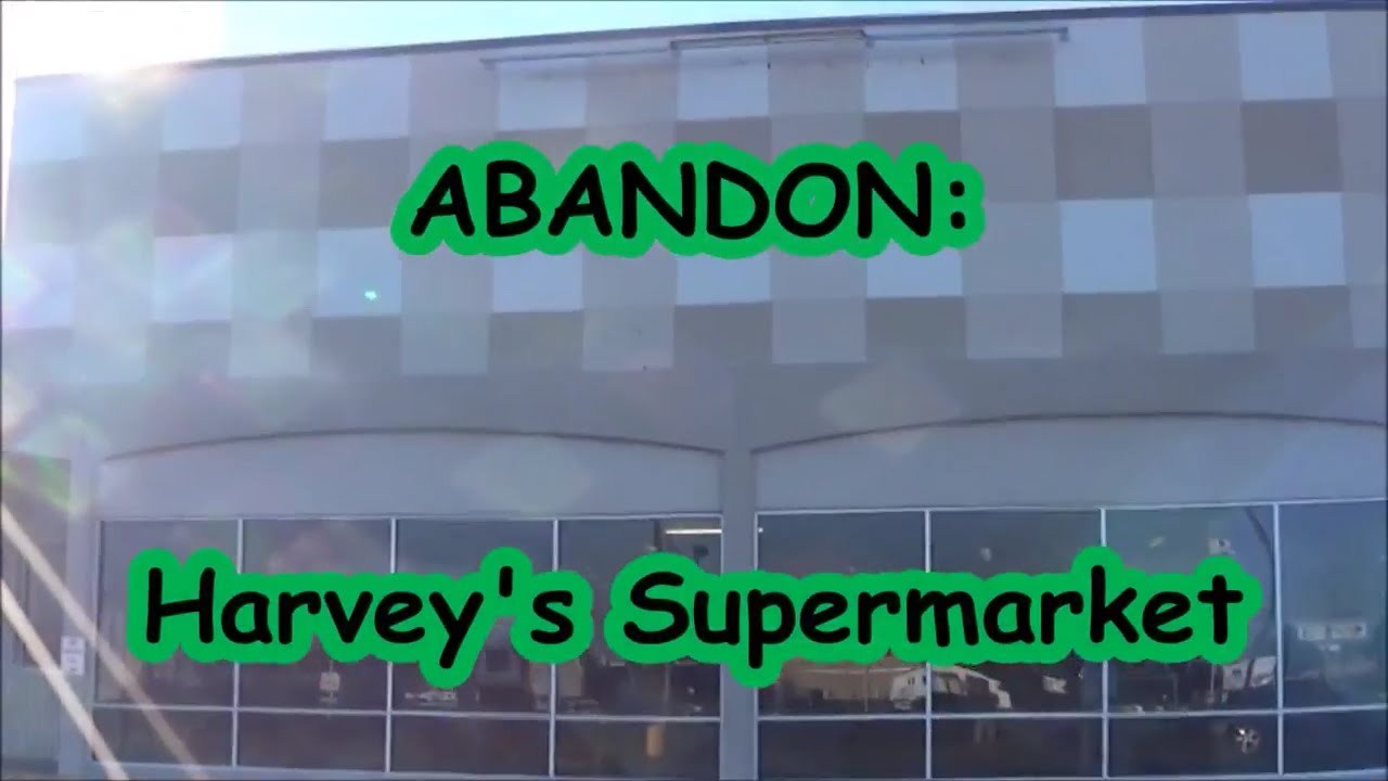 abandon 4 harveys supermarket
