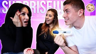 TELLING MY MOM WE'RE PREGNANT!!! (DIDN'T END AS EXPECTED) thumbnail