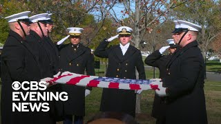 Elite Marine Corps unit carries fellow Marines to their final resting place