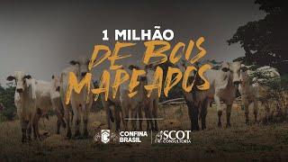 Confina Brasil ultrapassa a marca de 1 milhão de bois mapeados!