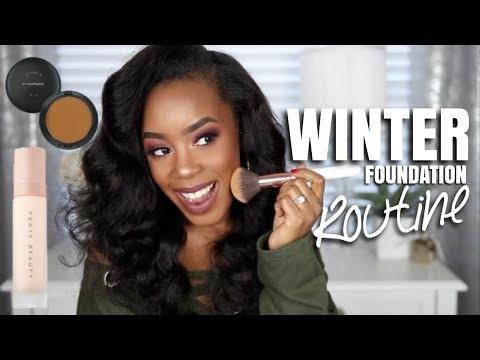 EASY WINTER FOUNDATION ROUTINE | Andrea Renee