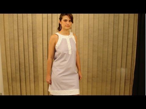 Clique e veja o vídeo Confecção de Vestidos - Vestido Clássico
