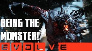 BEING THE MONSTER! (Goliath Gameplay) - Evolve Alpha (PC)