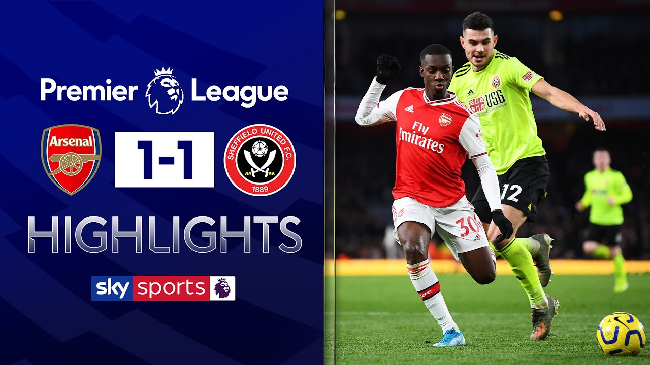 Blades come from behind to draw at Arsenal! | Arsenal 1-1 Sheffield United | EPL Highlights