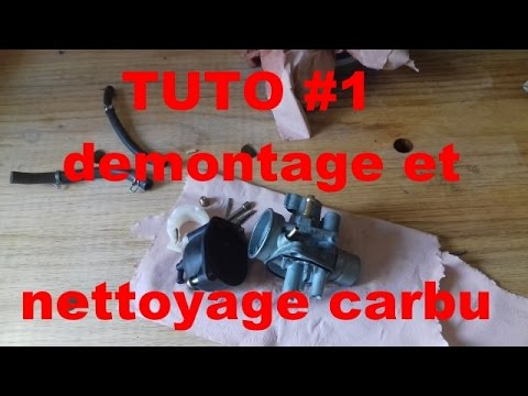 tuto 2 d montage et nettoyage carburateur 50cc youtube. Black Bedroom Furniture Sets. Home Design Ideas