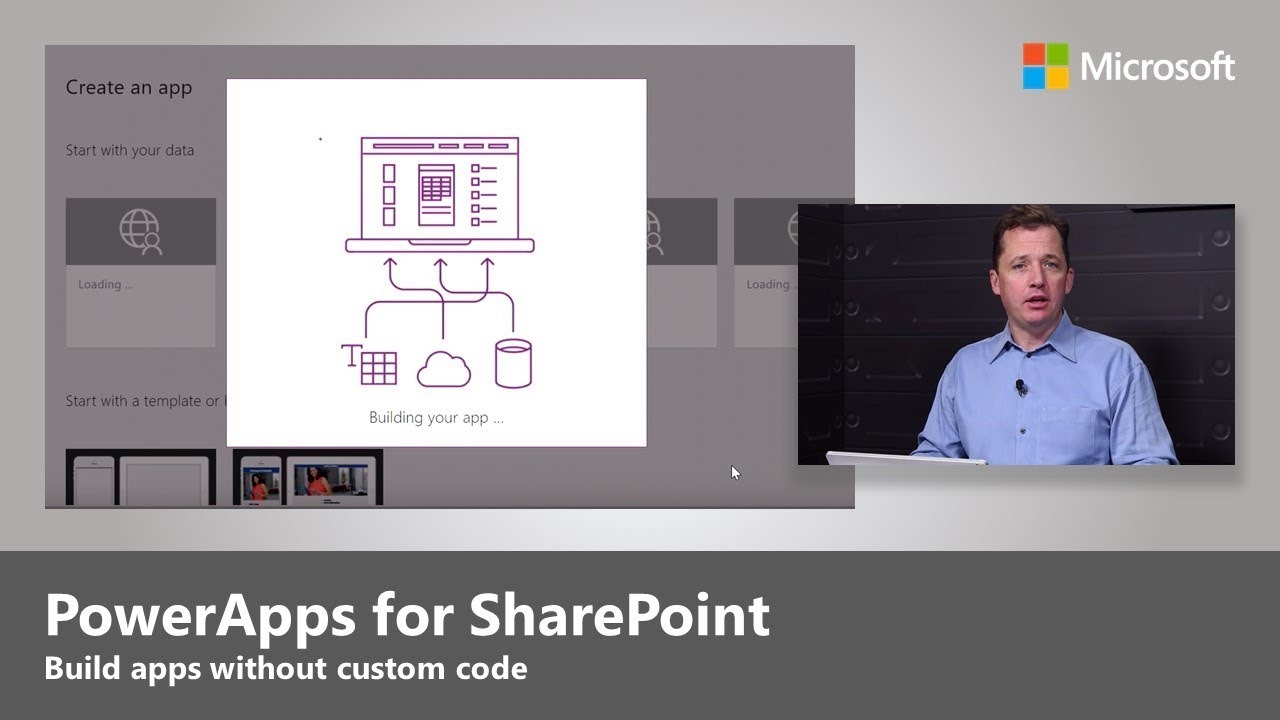 Step-by-step guide to building PowerApps for SharePoint