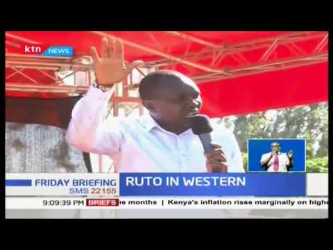 A Section Of Western Kenya Leaders Pledges To Support  Deputy President William Ruto