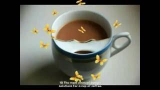 10 Самых необычных дизайнерских решений для чашки кофе.