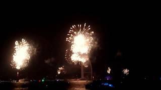 New year fireworks in Dubai👌😊