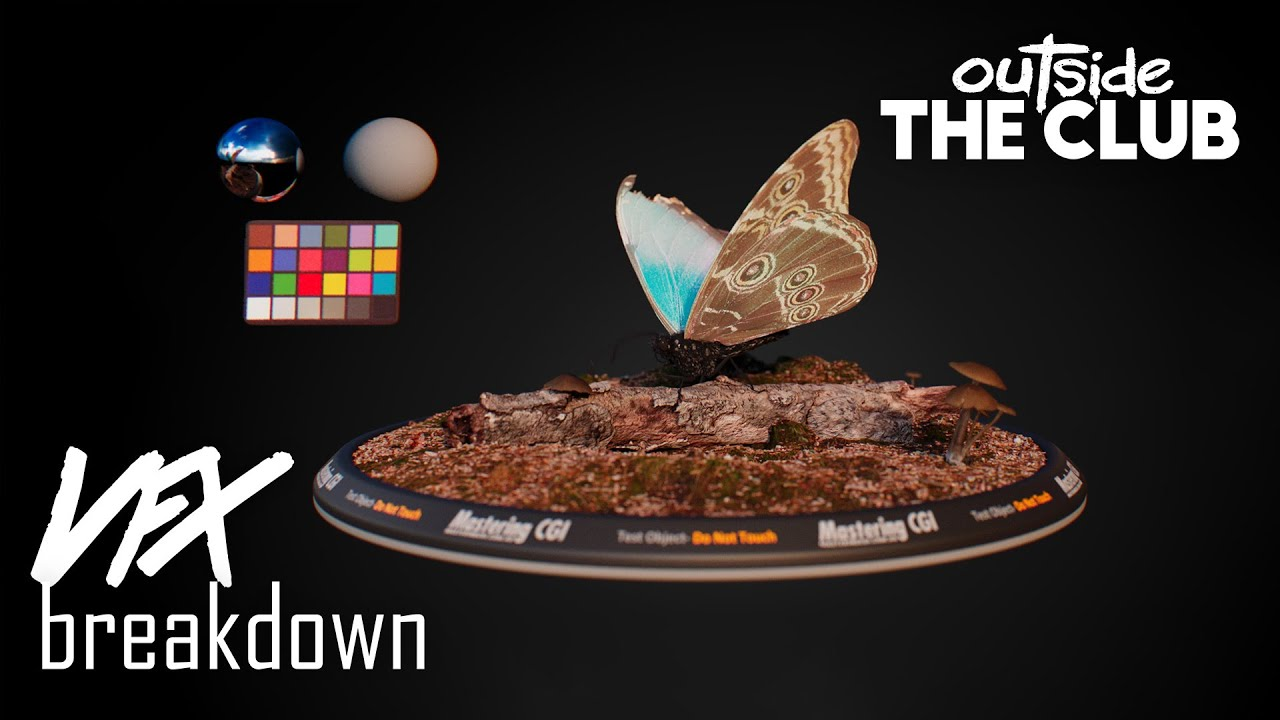 Psykhe digital Butterfly VFX Breakdown