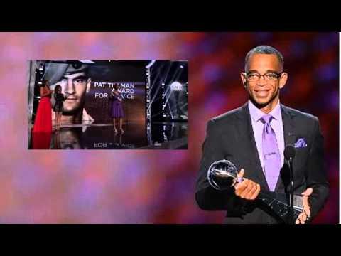 ESPYS 2015 - Dannielle Green Wins Pat Tillman Awards  - ESPN Awards (7-15-15)