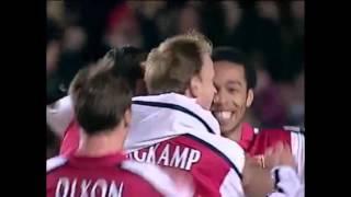 dennis bergkamp top 10 career goals