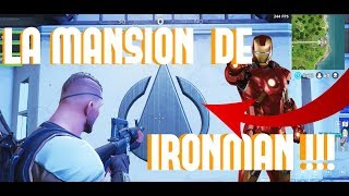 IRON MAN'S MANSION IN FORTNITE !!! FORTNITE SECRETS !!! SECRETS SEASON 4 !!!
