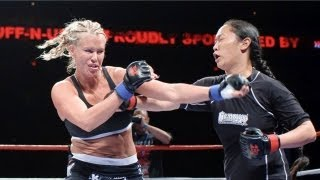 Latasha Marzolla [Playboy Playmate] fights Christy Tada during MMA debut at Tuff-N-Uff thumbnail
