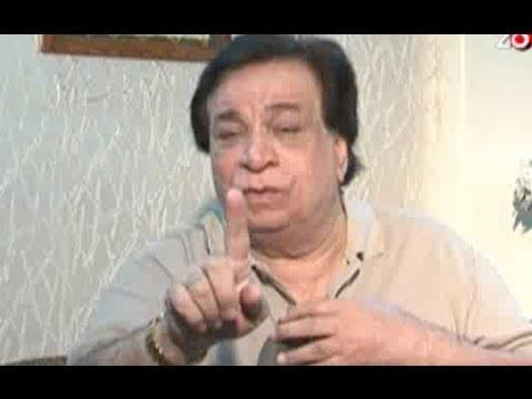 Kader Khan lashes