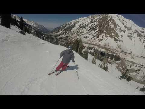 Skiing Snowbird Top to Bottom  April 16, 2017 11:30 AM