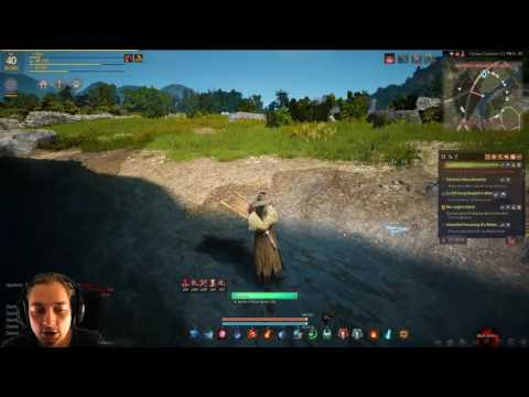 Lets Play Black Desert #200 Processing Alluvial Gold Part 2 [ENG]