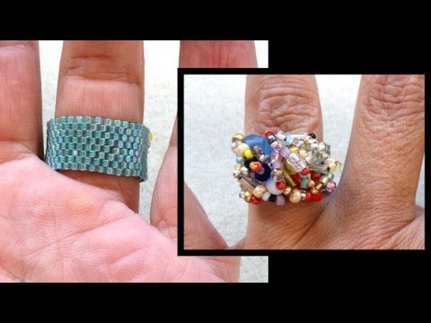 Beading4perfectionists : Stitch nr 7 : Even Peyote with delica's beading tutorial