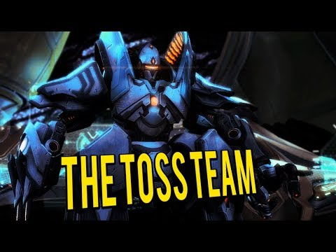 The Toss Team - Build and defend a Protoss Base - Starcraft 2 Mod