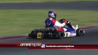 piloto Roberto Júnior Campeão da Copa SPR Light de Kart (F4 Graduados) I Programa Competição