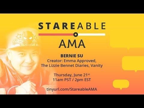 Bernie Su Ask Me Anything! 2 time Emmy Awardwinning web series creator!