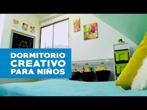 C mo hacer un dormitorio creativo para ni os youtube for Dormitorios para ninos