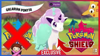 Galarian Ponyta is a Psychic Pokémon Shield! 🛡️ Version Exclusive!