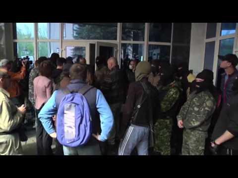 Ukrainian Mayor Shot, Amid Separatist Unrest