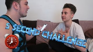 THE 5 SECOND CHALLENGE W/ Liam
