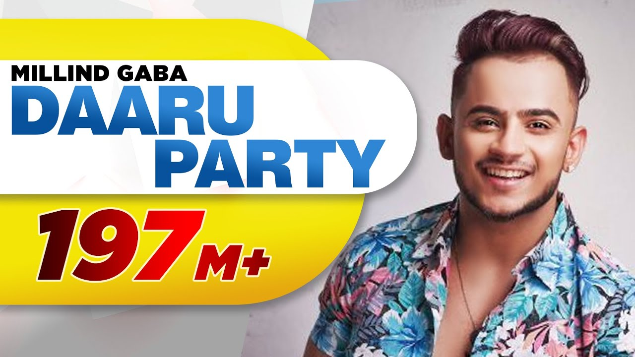 Darru Party by Millind Gaba new song
