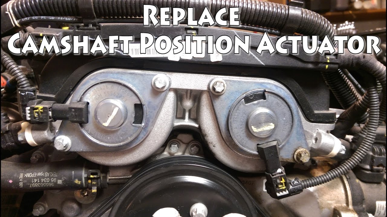 P0013 Cruze Camshaft Actuator Solenoid Replacement YouTube