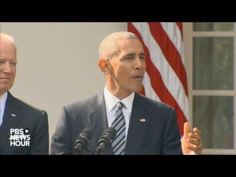Watch President Obama speak on Trump presidential victory