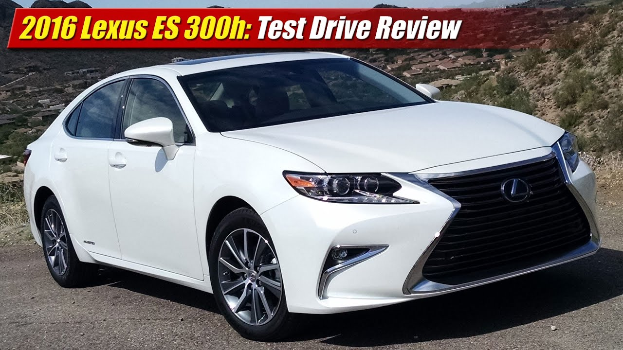 2016 lexus es 300h test drive review youtube. Black Bedroom Furniture Sets. Home Design Ideas