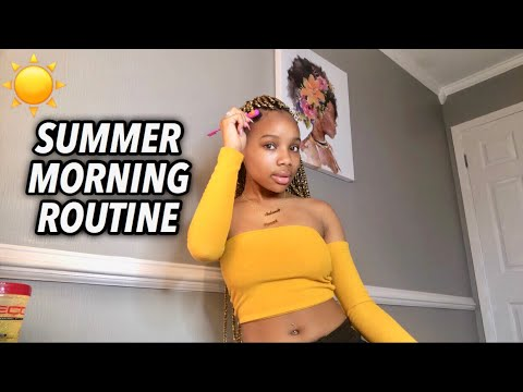 MY SUMMER MORNING ROUTINE 2019 | Salome Emani