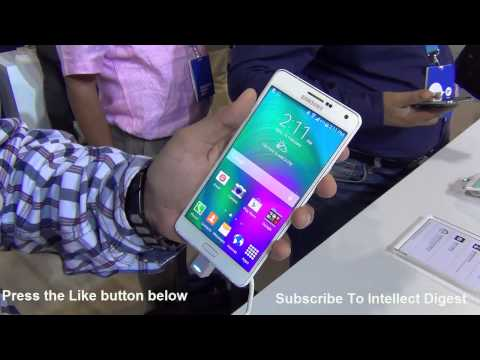 Samsung Galaxy A7 Hands On Review, Features, Specs, Camera and Price